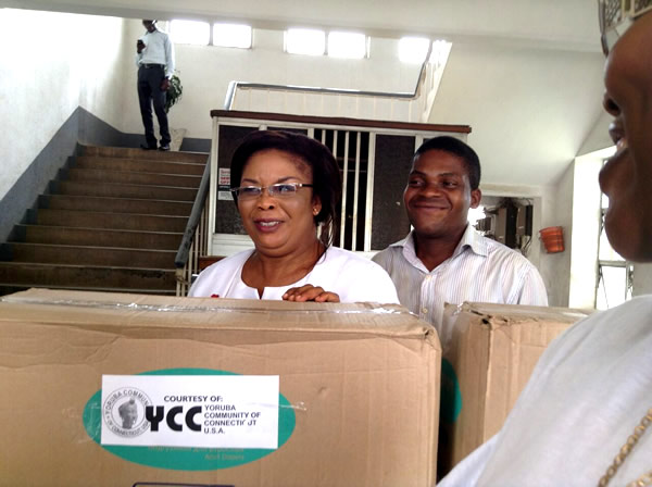 YCC donated consumables To Orthopedic Hospital